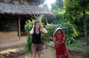 Farming volunteer abroad programs Nepal